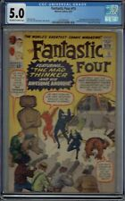 CGC 5.0 FANTASTIC FOUR #15 1ST APPEARANCE OF THE MAD THINKER OW/W PGS