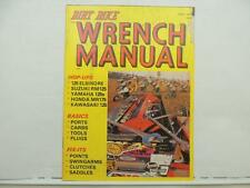 Vintage 1976 Dirt Bike Wrench Manual Catalog Suzuki RM125 Honda MR175 L6561