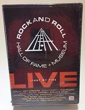 SEALED Rock and Roll Hall of Fame + Museum LIVE 3 DVD Set Time Life Fire Start