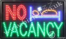 QUALITY FLASHING VACANCY hotel LED sign board new shop signs