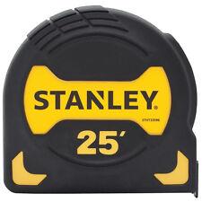 Stanley Black Rubber Overmold Housing  25-ft Tylon Blade Coated Tape Measure