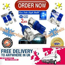 2 x SMD LED Xenon Blue Car Side Light Bulb T10 501 W5W BEST in the UK-ORDER NOW!