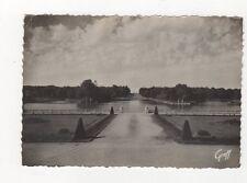 Rambouillet Terrasse & Pieces d'Eau France 1951 RP Postcard 486a