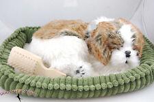 Shih Tzu Perfect Petzzz Life Like Stuffed Animal Breathing Dog