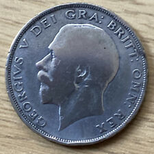 1922 Silver Half Crown King George
