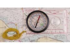 Brújula Compass militar con cuerpo Plástico y lupa para mapas Mfh senderismo