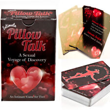 Pillow Talk Intimate Card Game a Sexual Voyage of Discovery for Naughty Lover Co