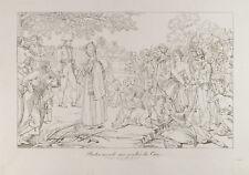 Gravure 1876 : Révolte du Caire. Napoléon Bonaparte. Egypte.