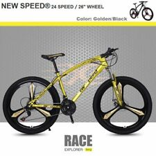 NEW SPEED® Mountain Bike Men/Women 24Speed MTB Frames Full Suspension