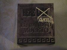 Kidrobot SDCC San Diego Comic Con Exclusive 2011 El Bandito Muerto Signed