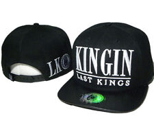 New Last Kings Adjustable Baseball Rock Cap Snapback Hip-Hop Cool Hat Black