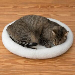 Cat Bed Cosy 2 in 1 Winter Side and a Summer Side For All Year Use