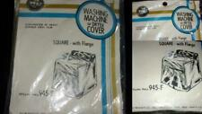 Vintage 1960s Washing Machine or Dryer Cover KC Products Square Heavy Vinyl