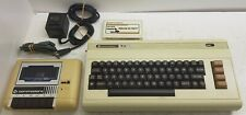 Commodore VIC-20 Computer, Datasette, PSU, Tested & Working. Sargon II Chess !