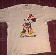 Vintage Disney Minnie Mouse white T-shirt Mens Size 2XL