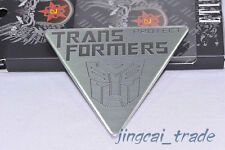 3D Transformers Autobot Emblem Badge Decal Sticker Car Body Fender Chromed Metal