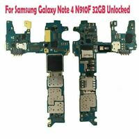 Quality Main Motherboard Replace for Samsung Galaxy Note 4 N910F 32GB Unlocked