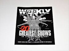 Las Vegas Weekly Magazine Cirque Du Soleil O -Greatest Shows In LV History Issue