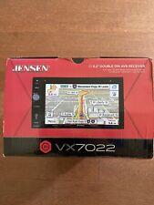 """Jensen VX7022 Navigation DVD Receiver w/ 6.2"""" Touchscreen Bluetooth And HDMI"""
