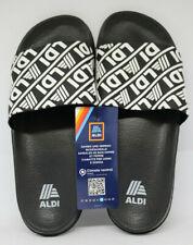 Aldi Mania Limited Edition Badelatschen Aldiletten schwarz