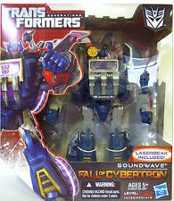 SOUNDWAVE Transformers Generations Fall of Cybertron Voyager Class Figure 2012