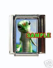 Geico Gecko #1 Custom Italian Charm Funny Lizard!