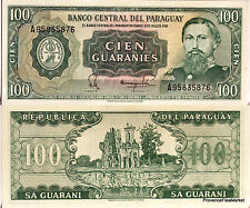 PARAGUAY billet neuf de 100 GUARANIES Pick205 RUINE OF HUMAITA JOSE E DIAZ 1982