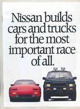 1988 Nissan Brochure 300ZX Maxima 200SX Sentra Pulsar Stanza Maxima mx5352