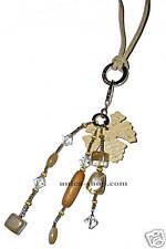 Dyrberg Kern Leder Halskette CORBIERE Blatt NEU