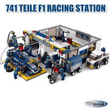 F1 Bull Racing Station 741 Teile Baustein Baukasten Set kompatibel Neu