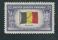 Scott #914....5 Cent... Belgium Flag...50 Stamps...MNH