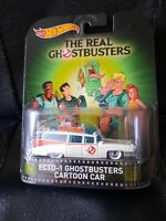 Hot Wheels Retro Entertainment The Real Ghostbusters Cartoon Ecto 1 Hobby