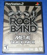 Rock Band: Metal Track Pack PS2 *New! *Factory Sealed! *Free Shipping!