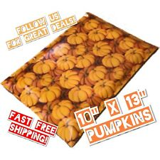 Upaknship 10x13 Pumpkin Designer Fall Poly Mailers Shipping Envelopes