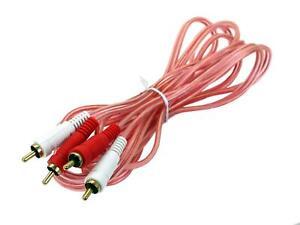 Connects2 Rca Phono Kabel Verlängerung 3M 300cm CT35-130 Auto Audio Amp Einbau