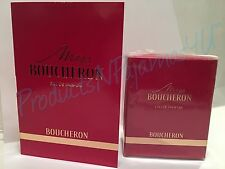NEW Boucheron MISS BOUCHERON Eau de Parfum .5fl.oz/15ml SEALED MINI + SAMPLE