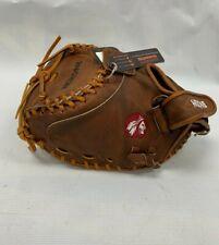 """Nokona Walnut 32.5"""" Fastpitch Softball Catcher's Mitt W-V3250 LEFT HAND THROW"""