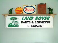 LAND ROVER RICAMBI e assistenza Banner display Officina Garage o uso al dettaglio