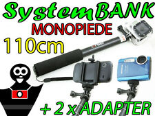 Monopiede Braccio Mano Allungabile Telescopico per SONY ACTION CAM HDR-AS30