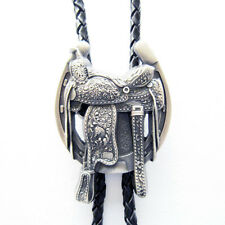 Western Bolo Tie also Stock in Us New Vintage Silver Plated Horse Saddle Boots