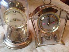 2 Vintage lchatz wind up swinging cog  clock german
