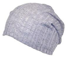 Womens Solid Color Lightweight Rib Knit Beanie, Winter, Cold, Cap #673 Gray