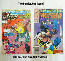Marvel Ghost Rider and Dr. Strange, Wolverine & Nightcrawler Vol 1 #106 FINE 7.0