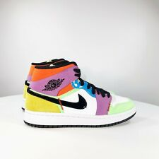 Nike Air Jordan Retro 1 Mid Lightbulb Multi-color CW1140-100 Light Bulb W 7.5