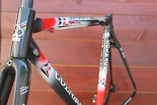 NO RESERVE Telaio Colnago C50 carbon MADE IN ITALY sz 50x52 slooping frame+fork