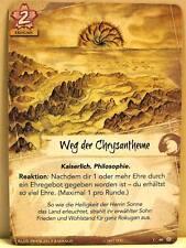Legend of the Five Rings LCG - 1x #080 Weg der Chrysantheme - Der Chrysanthement