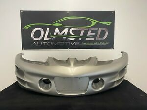 93 02 Pontiac Firebird Trans AM WS6 Front Bumper Assembly Cover OEM GM Pewter