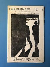 "Raymond Pettibon ""Look In Any Dive"" 1990 #33/40 RARE Black Flag"