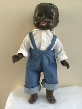 Composition doll Black Boy c1920