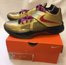 Nike Zoom KD IV Olympic 4 Gold Medal Red Blue White 473679-702 US 9.5